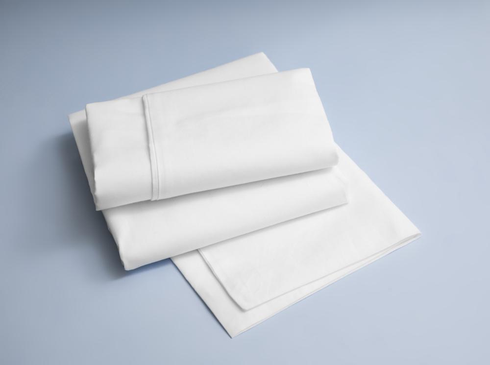 witte bad laken