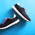 Het klassieke model schoen dragen